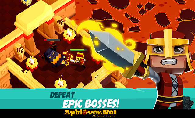 Maze Escape Dungeon Heroes RPG APK