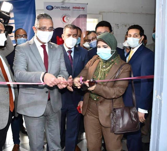 محافظ الفيوم يفتتح وحدة طب الجنين بالمستشفى العام