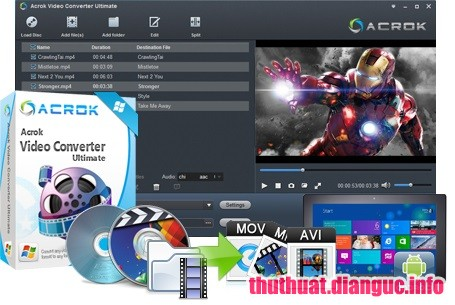 Download Acrok Video Converter Ultimate 6.4.101.1149 Full Cr@ck