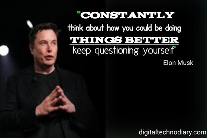 55 Elon Musk Motivational quotes about success