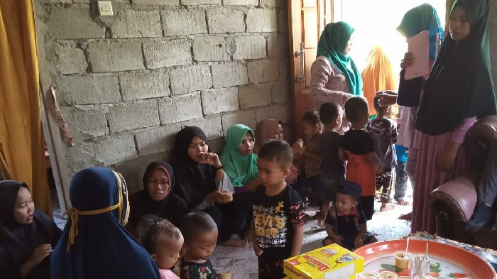 Posyandu Dusun Bisokeng Dapat Bantuan ADD Untuk PMT