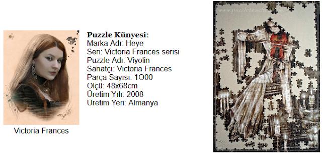 Victoria Frances Heye Puzzle