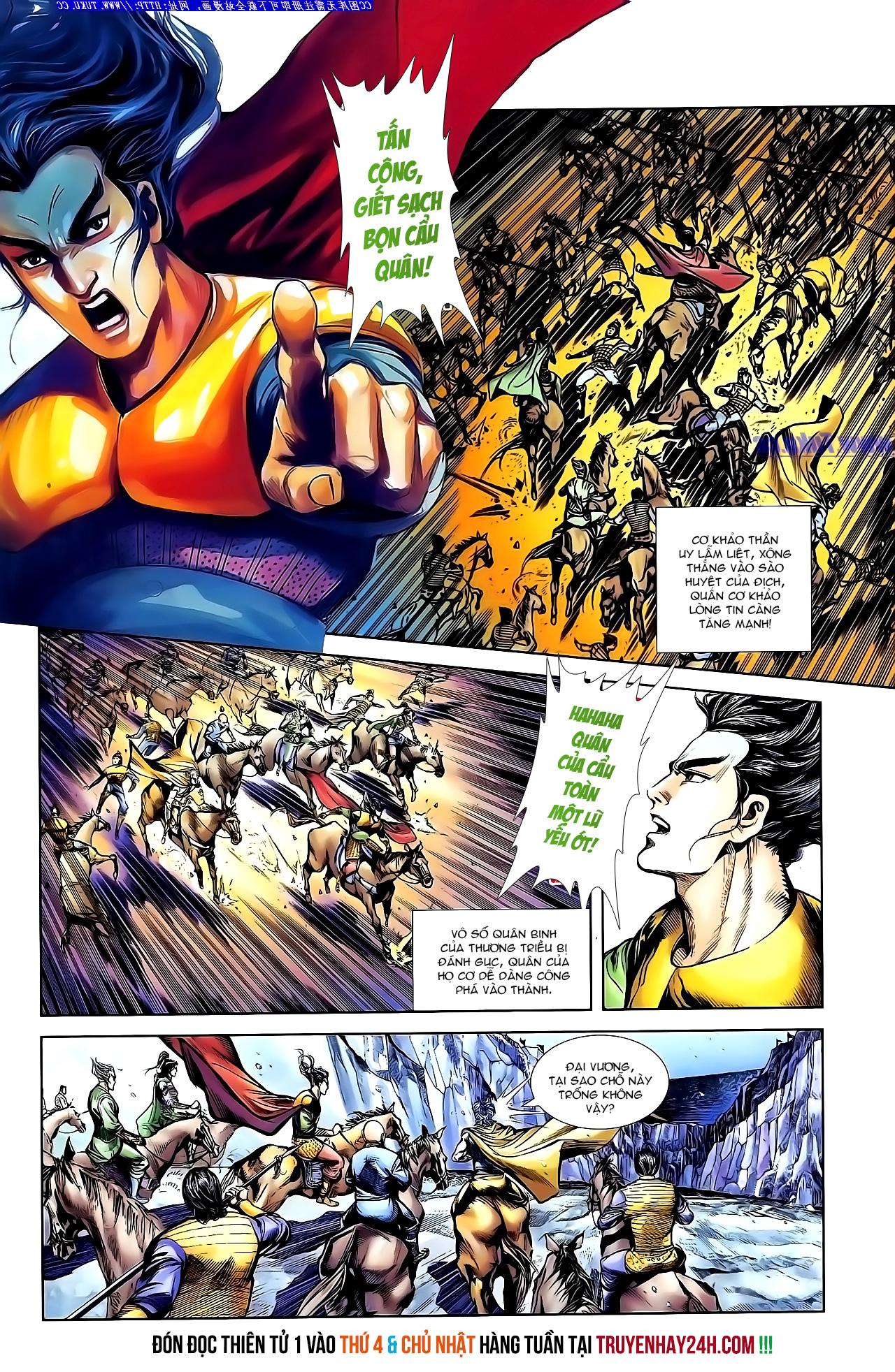 Cơ Phát Khai Chu Bản chapter 144 trang 27