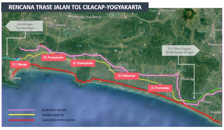 Kementerian PUPR Setujui Dua Pintu Tol Dibangun di Kebumen