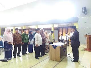 Rotasi Pejabat di Lingkungan Kerja IAIN Batusangkar