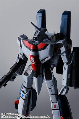 La Bandai presenta per la linea Hi-METAL R il Super Valkyrie VF-1A di Hikaru Ichijo