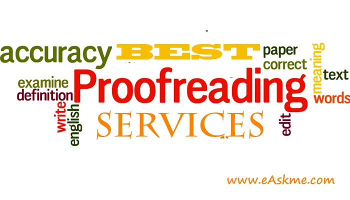 Where You Can Find Professional Proofreading Services: eAskme