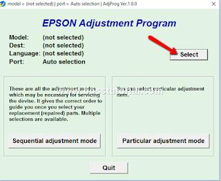 Cara Mengatasi Error Printer Epson L110, L201, L300, L355 yang ngeblink