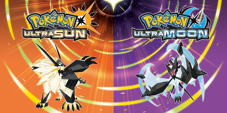 Pokémon Ultra Sun e Ultra Moon