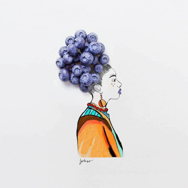 Fruits and Vegetables Artwork Illustrations