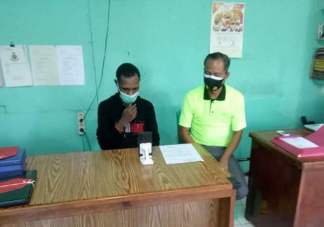 Penyidik Polsek Jayapura Selatan Serahkan Ardo Kasus Pencurian ke Kejaksaan