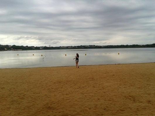 Praia Municipal de Lagoa da Prata/MG