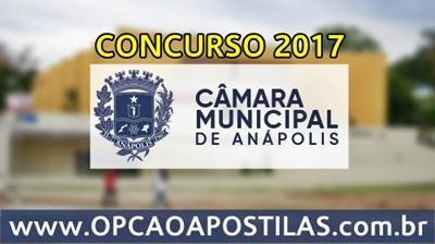 Concurso Câmara de Anápolis 2017