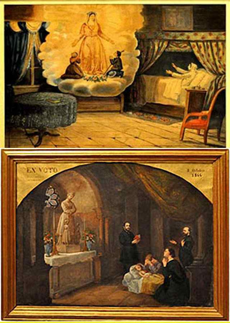 Ex-votos retratam os primeiros milagres de Nossa Senhora de La Salette