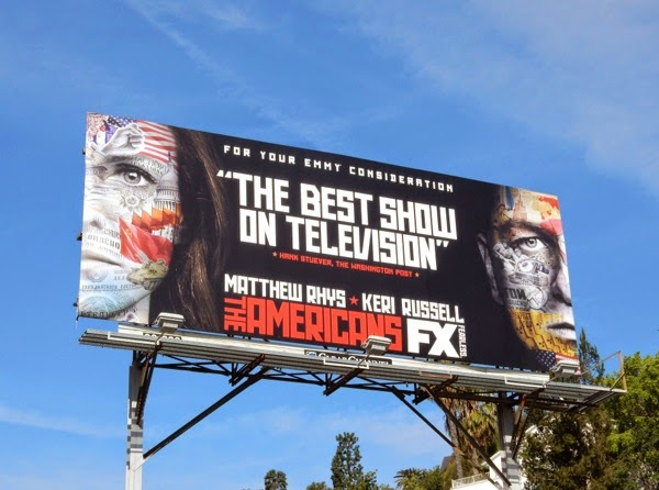 The Americans Emmy 2015 billboard