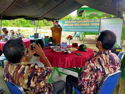 Kodim 0105/Aceh Barat Gelar Komsos Dengan Keluarga Besar TNI (KBT)