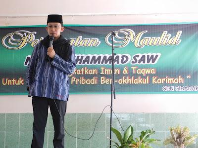 Sd Negeri Cibadak Bogor Kegiatan Maulid Nabi Muhammad Saw Tahun 1438 H