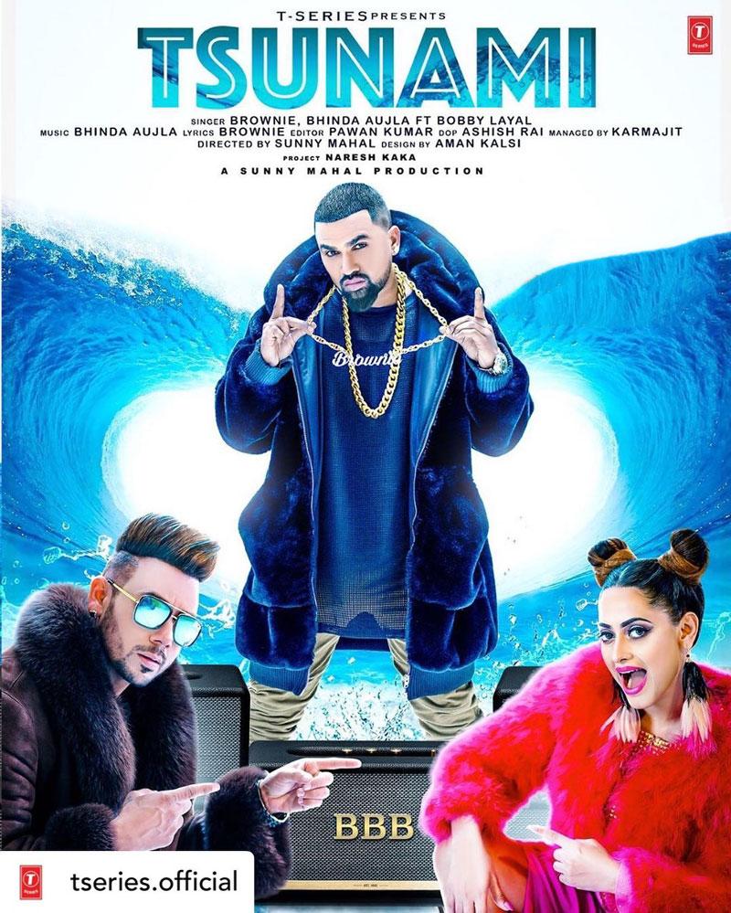 Tsunami Lyrics - Brownie, Bhinda Aujla, Bobby Layal   Latest