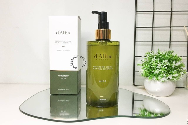 review dalba mild gel cleanser
