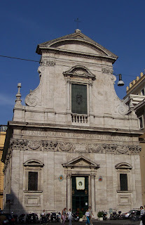Santa Maria in Via, Richelmy's second church in Rome