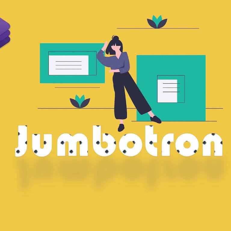 #Belajar BOOTSTRAP 4 Part 7. Cara membuat Jumbоtrоn dengan Bootstrap 4