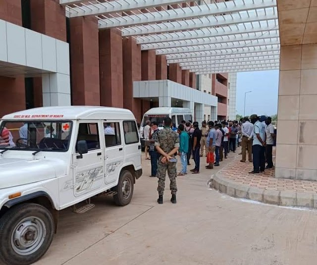 Dr BC Roy Institute Of Medical Science And Research Of IIT Kharagpur Made As Quarantine Center.