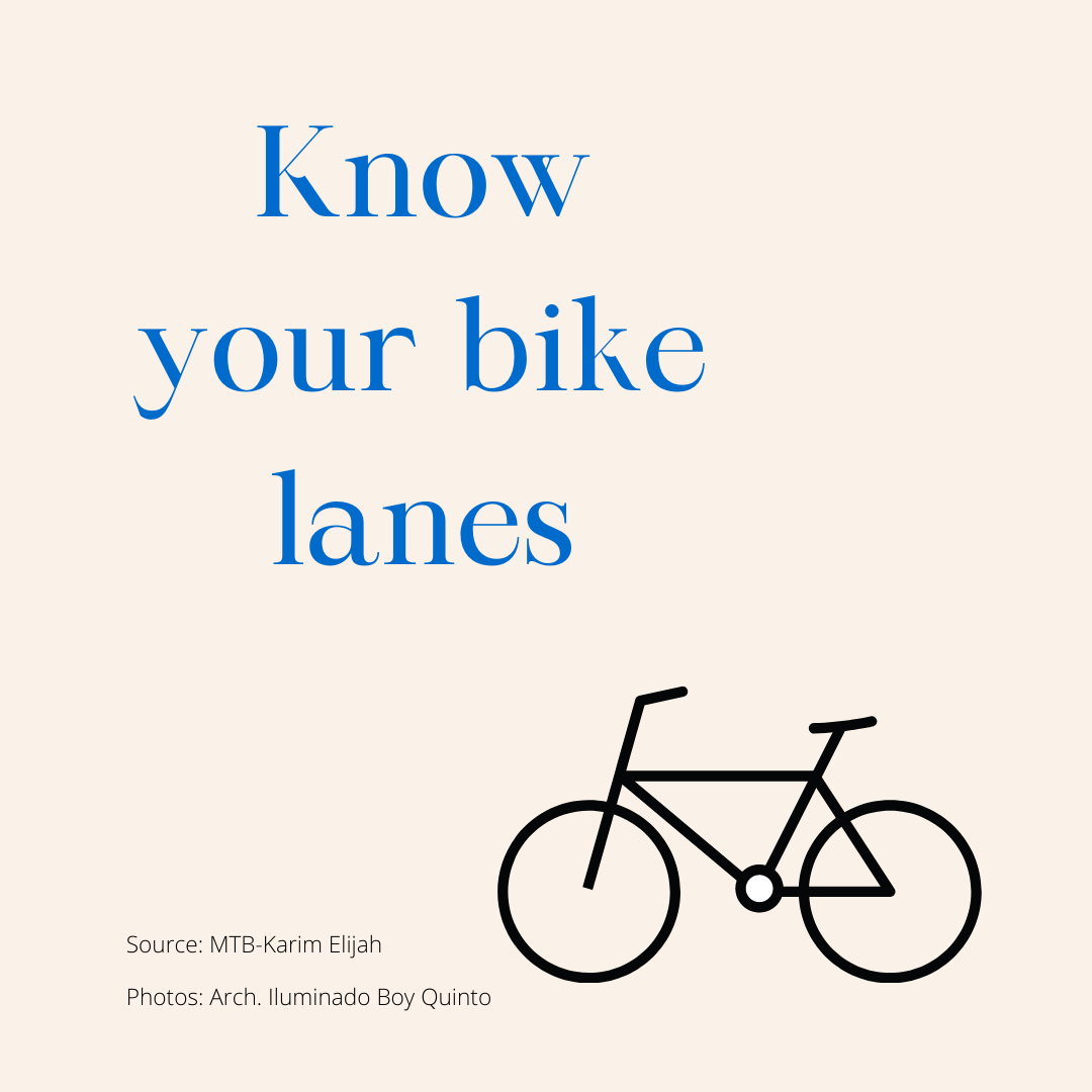 Know Your Bike Lanes