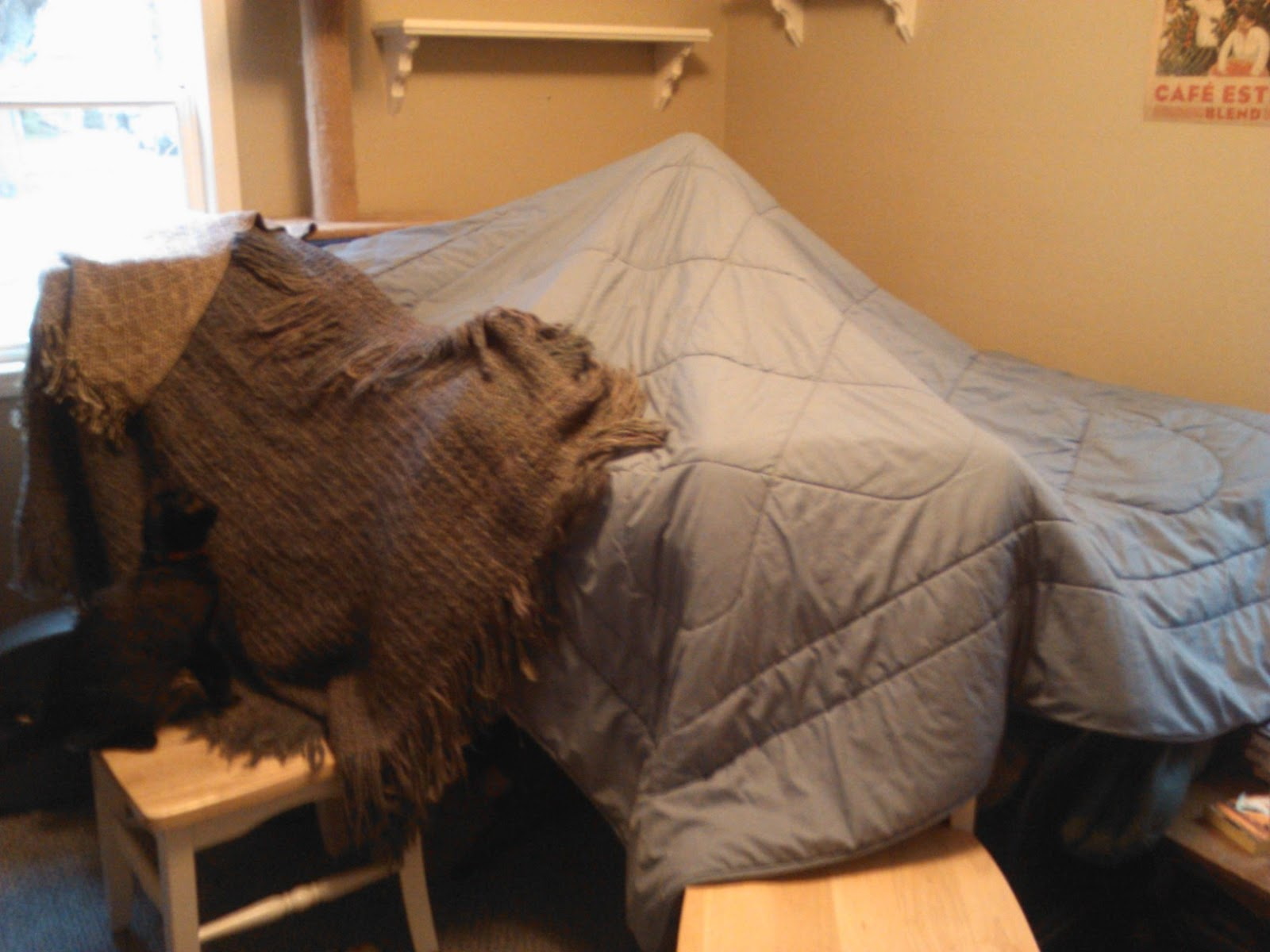 Miriam Forster On anxiety and blanket forts