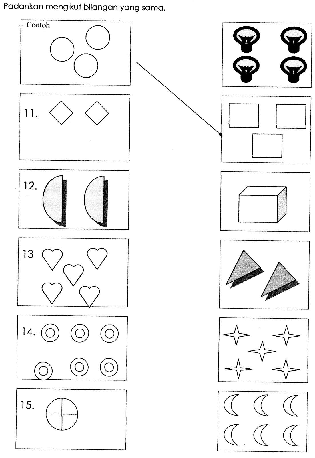 Bersuka Ria Di Prasekolah Latihan Matematik