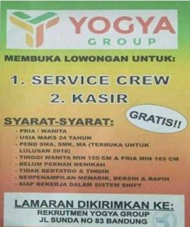 Lowongan Pekerjaan Yogya Group