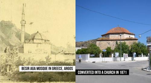 Πόλεμος προπαγάνδας από την Τουρκία με την μετατροπή τζαμιού στο Άργος σε χριστιανική εκκλησία