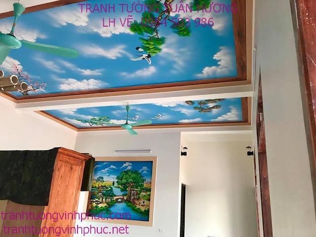vẽ tranh 3d tại tuân chính vĩnh tường vĩnh phúc1