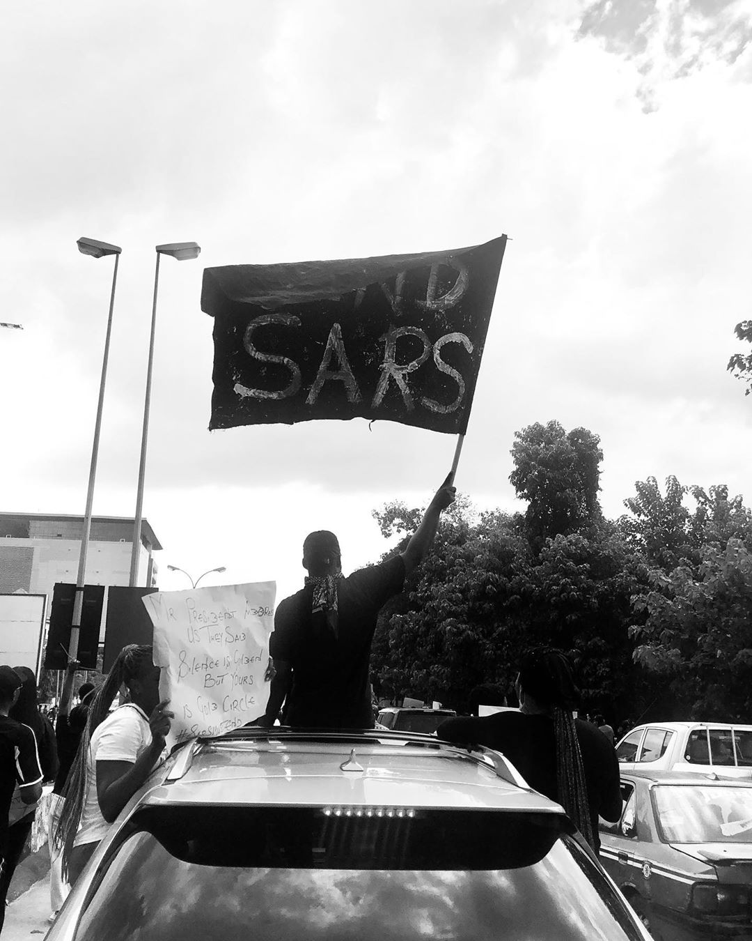 END SARS IN KANO