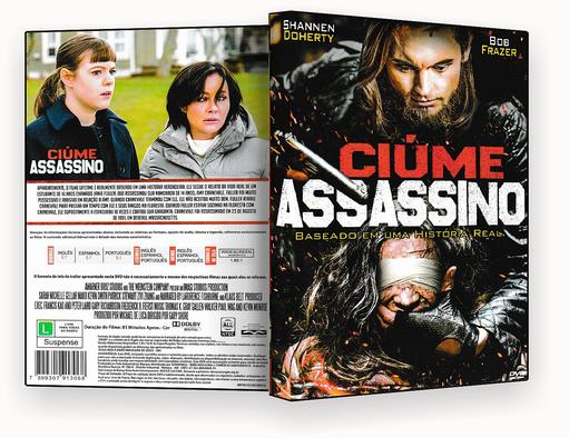 CAPA DVD – CIUMES ASSASSINO 2018 – ISO