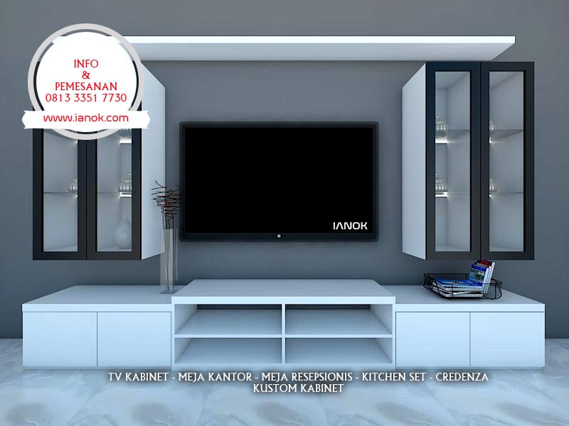 Desain Rak TV atau Backdrop TV