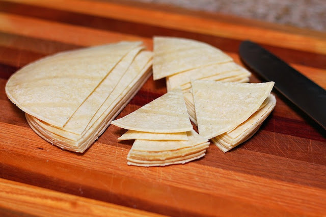 Homemade tortilla chips crispy recipe