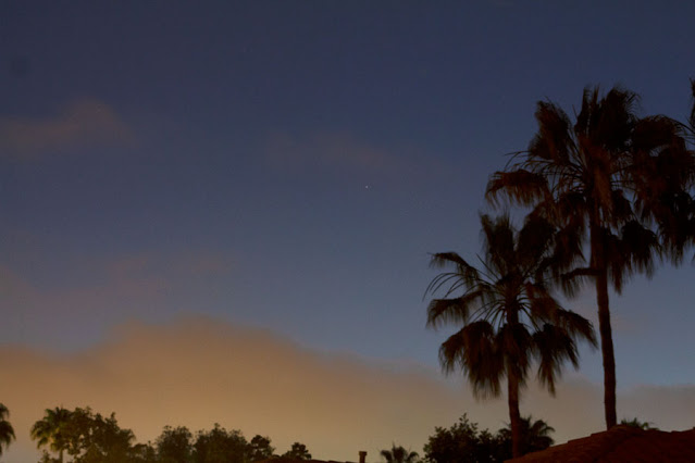 Venus, until the clouds came in at sunset, DSLR, 75mm, 2 sec (Source: Palmia Observatory)