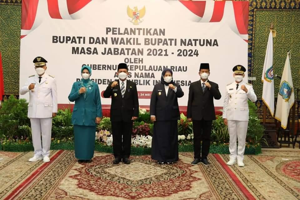 Walikota Batam Menghadiri Pelantikan Bupati dan Wabup Natuna