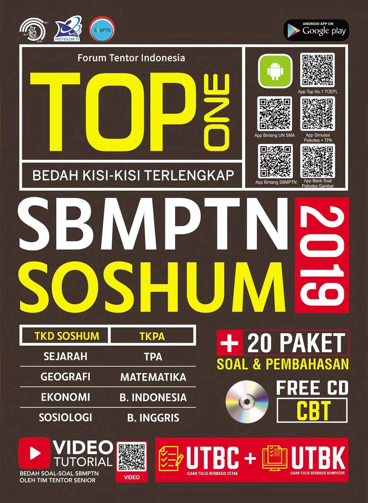TOP One Bedah Kisi-kisi Terlengkap SBMPTN SOSHUM