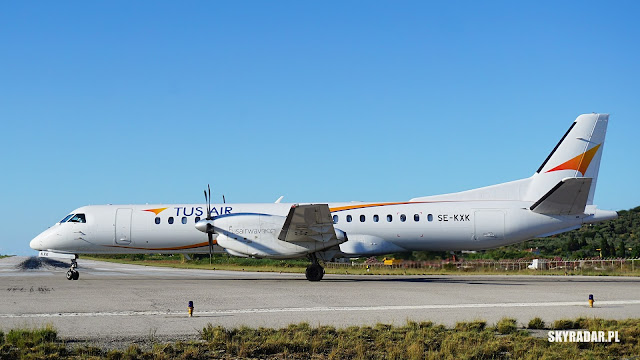 SE-KXK - Saab 2000 - Tus Airways