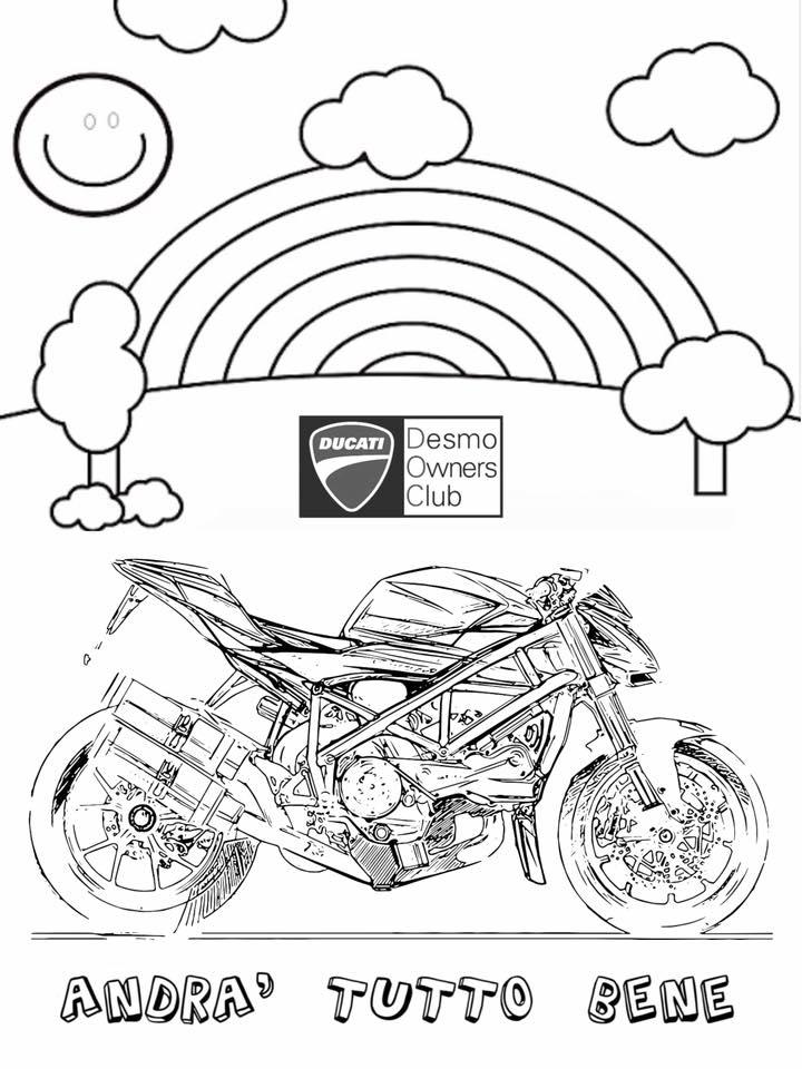 Ducati Coloring Books for Kids