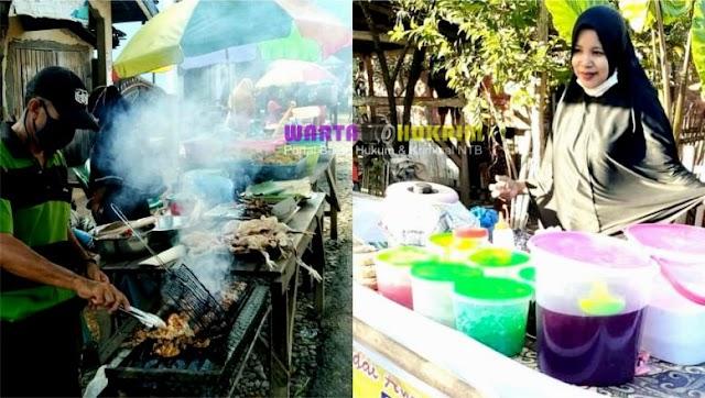 Berkah Ramadhan, Pasar Takjil Desa Simpasai Ramai Dikunjungi Pembeli