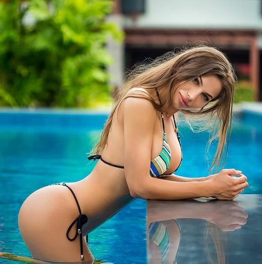 38 Thong Bikini Models Sexy Big Round Booty HD Beauties - Galleries in High Quality G String Bikini