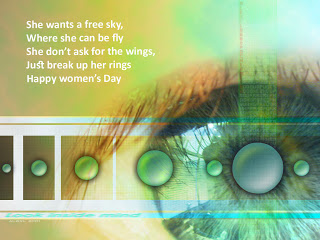 Creative women's day posters
