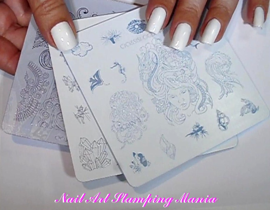 Nail Art Stamping Mania: New Acrylic Stamping Plate from Cici&Sisi ...