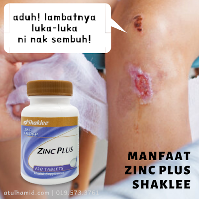 Manfaat Zinc Plus Shaklee