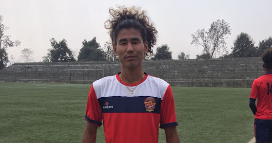 Footballer Kivi Zhimomi becomes first naga to sign for ISL club
