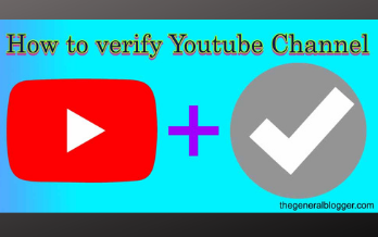 How to verify my Youtube Channel updated