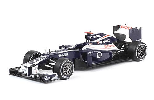 Williams FW34 2012 Pastor Maldonado f1 the car collection