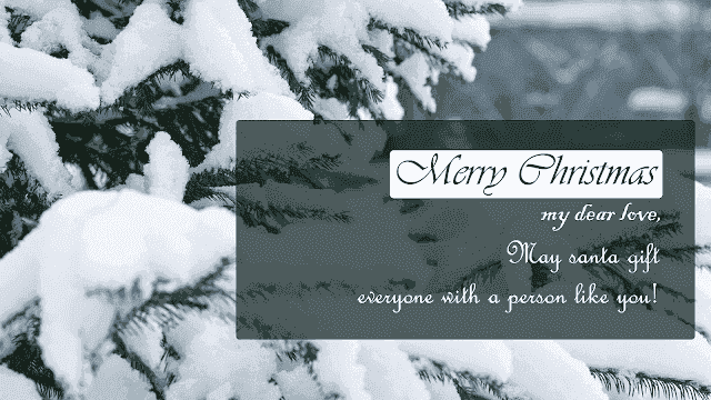 Merry christmas images for girlfriend